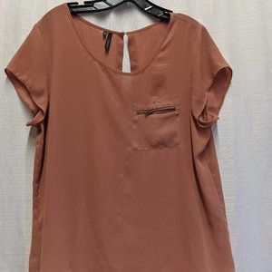 Maurices Button Back Top